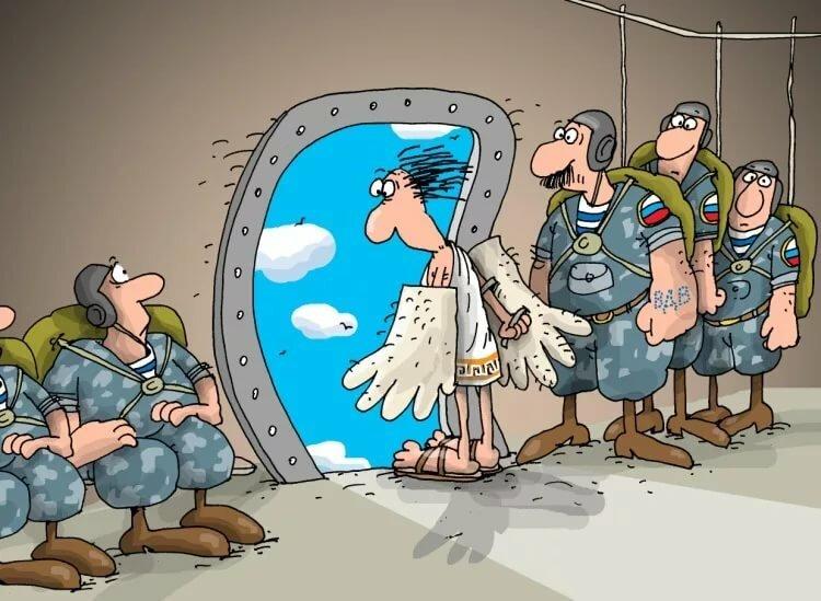 Анекдоты про ВДВ, про десантников, самые смешные